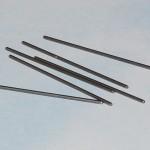 Steel needles